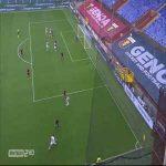 Genoa 2-[1] Crotone - Emmanuel Rivière 28'