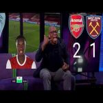 Ian wright reaction on yesterday's arsenal second goal