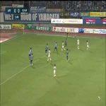 Montedio Yamagata 0-(1) Giravanz Kitakyushu - Akira Silvano Disaro nice long shot goal