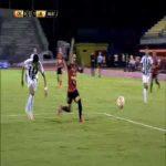 Caracas [1]-1 Libertad - Jorge Echeverría penalty 48'