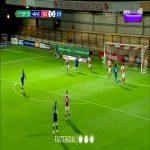 Everton 3-1 Fleetwood - Iwobi 49'