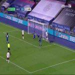 Leicester 0 - [1] Arsenal - Fuchs OG 57'