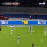 Hertha Berlin 0-1 Eintracht Frankfurt - Andre Silva penalty 30'