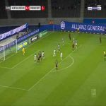 Hertha Berlin 0-3 Eintracht Frankfurt - Sebastian Rode 71'