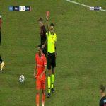 Irfan Kahveci (Basaksehir) second yellow card against Karagumruk 82'