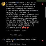 "Neymar saying ""Incredible how they do things🤦""under messi's farewell message to Suarez on IG."
