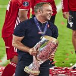 On average, Hans-Dieter Flick has won a Trophy every 9.5 games as manager of FC Bayern Munich
