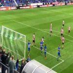 PEC Zwoelle [1]-0 Sparta Rotterdam: Reza Ghoochannejhad 45' (penalty)