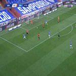 Sampdoria 1-0 Benevento - Fabio Quagliarella 8'
