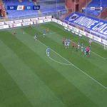 Sampdoria 2-[1] Benevento - Bryan Dabo 33'