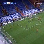 Sampdoria 2-[2] Benevento - Luca Caldirola 72'