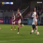 [Women] Arsenal [2] - 0 Tottenham - Lisa Evans 73'