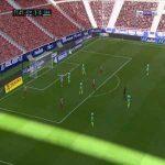 Atletico Madrid 4-0 Grenada - Marcos Llorente 72'