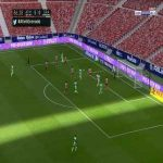 Atletico Madrid 5-[1] Granada - Jorge Molina 87'