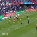 Feyenoord [2]-1 Den Haag - Marcos Senesi acrobatic goal 57'