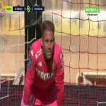 Monaco 3-[2] Strasbourg - Ludovic Ajorque penalty 70'