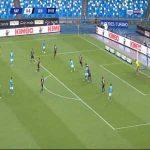 Napoli 1-0 Genoa - Hirving Lozano 10'