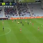 Nîmes 0-1 Lens - Ignatius Ganago 35'