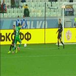 Rotor Volgograd 1-[3] Rubin Kazan - Oleg Shatov penalty 75'