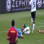 Spezia 1-[2] Sassuolo - Domenico Berardi penalty 64'