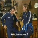 Totti and Del Piero tell a joke!