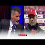 Klopp doesn't hear Keane's entire sentence in post match interview
