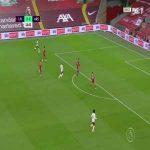 Liverpool 0 - [1] Arsenal - Lacazette 25'