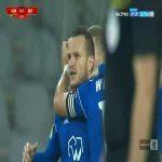 Korona Kielce 0-1 Bruk-Bet Termalica Nieciecza - Roman Gergel 17' (Polish I liga)
