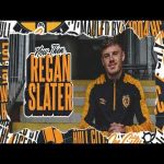 "Regan Slater on joining Hull City on loan from Sheffield United - ""I know that they stopped Wednesday going to the Prem with a wonder strike and that's all I need to know. That will do me"""
