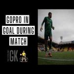 Ben Foster playing Watford vs. Luton with a GoPro in the goal