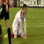 Javier Reina (Independiente Medellín) penalty miss against Caracas 81'