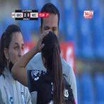 [Liga MX Femenil] 15 year old Queretaro player Fatima Servin with a Incredible Free Kick Goal
