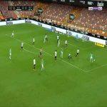 Valencia 0-1 Betis - Sergio Canales 19'