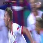 Barcelona 0 - [1] FC Sevilla - Luuk de Jong 8'
