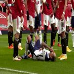 Manchester United Vs Tottenham Hotspur - Martial Red Card 29'