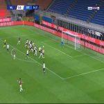 Milan 1-0 Spezia - Rafael Leao 57'