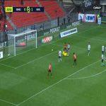 Rennes [1]-1 Reims - Raphinha 24'