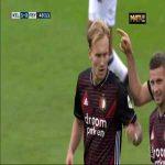 Willem II 1-[2] Feyenoord - Bryan Linssen 48'