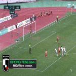 Jong Tae Se (Albirex Niigata) hat trick vs Machida Zelvia , including one amazing volley goal