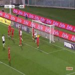 Italy 1-0 Moldova - Bryan Cristante 19'