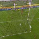 Belgium 1-0 Ivory Coast - Michy Batshuayi 53'