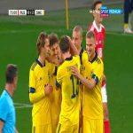 Russia 0-2 Sweden - Mattias Johansson 72'