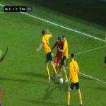 Belgium U21 5-0 Wales U21 - Lois Openda penalty 82'