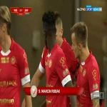 Widzew Łódź [2]-1 Sandecja Nowy Sącz - Marcin Robak 52' (Polish I liga)