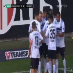 1. FC Kaiserslautern 0-[1] Waldhof Mannheim - Joseph Boyamba 7'