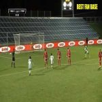 Farouk Ben Mustapha (Tunisia) penalty save against Nigeria 30'