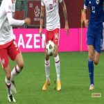 Anel Ahmedhodzic (Bosnia) straight red card against Poland 15'