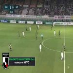 Matsumoto Yamaga (1)-0 Mito Hollyhock - Taro sugimoto goal (nice team goal)