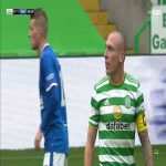 Celtic vs Rangers: Brown and Morelos incident