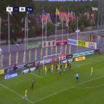 Falkenbergs FF [2]-1 Örebro SK - Carl Johansson 74'